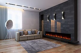 EL100 Modern Fireplace - In-Situ Image by EcoSmart Fire