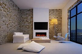 EL40 Modern Fireplace - In-Situ Image by EcoSmart Fire