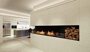 Flex 68LC.BXR Flex Fireplace - In-Situ Image by EcoSmart Fire