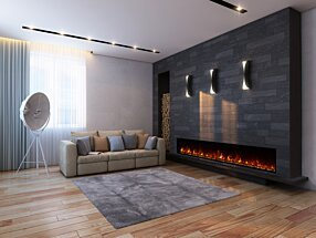 Private Residence - EL100 Electric Fireplace by EcoSmart Fire
