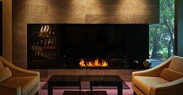XL1200 Modern Fireplace - In-Situ Image by EcoSmart Fire