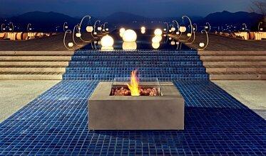 Base 40 Modern Fireplace - In-Situ Image by EcoSmart Fire