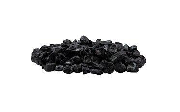 Black Glass Charcoal Decorative Media - Studio Image by EcoSmart Fire