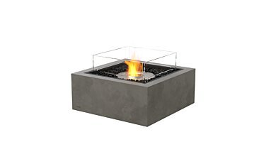 Base 30 Modern Fireplace - Studio Image by EcoSmart Fire