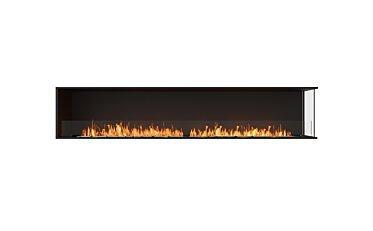 Flex 104RC Right Corner - Studio Image by EcoSmart Fire