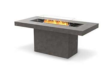 Gin 90 (Bar) Modern Fireplace - Studio Image by EcoSmart Fire