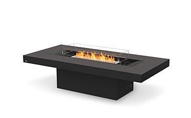 Gin 90 (Chat) Modern Fireplace - Studio Image by EcoSmart Fire