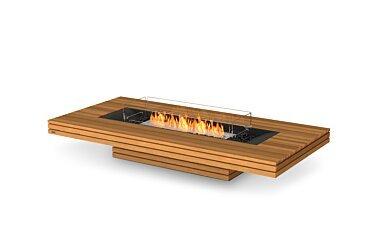 Gin 90 (Low) Modern Fireplace - Studio Image by EcoSmart Fire