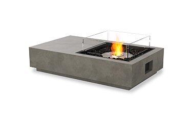 Manhattan 50 Modern Fireplace - Studio Image by EcoSmart Fire
