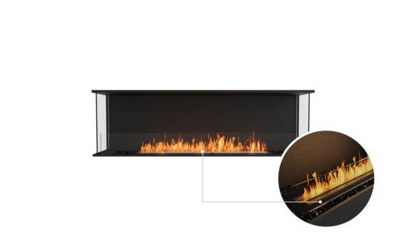 Flex 68 - Ethanol - Black / Black / Installed View by EcoSmart Fire