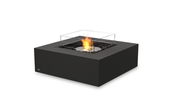 Base 40 Fire Table - Ethanol / Graphite / Optional Fire Screen by EcoSmart Fire