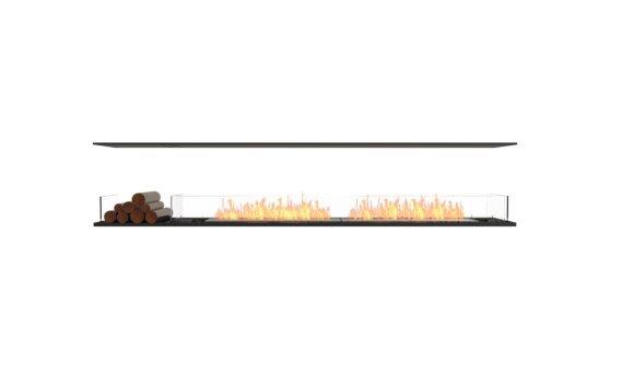Flex 104IL.BX1 Island - Ethanol / Black / Installed View by EcoSmart Fire