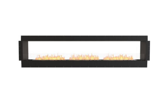 Flex 122DB Double Sided - Ethanol / Black / Uninstalled View by EcoSmart Fire