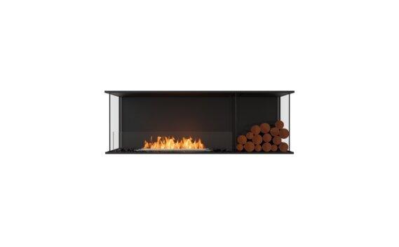 Flex 60 - Ethanol / Black / Installed View by EcoSmart Fire