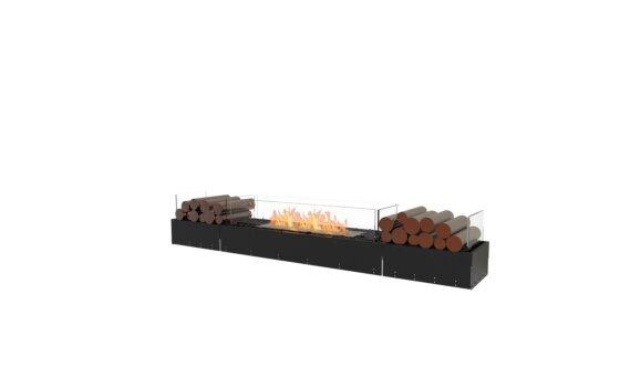 Flex 78BN.BX2 Bench - Ethanol / Black / Uninstalled View by EcoSmart Fire