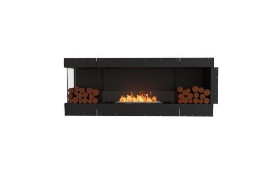 Flex 78LC.BX2 Left Corner - Ethanol / Black / Uninstalled View by EcoSmart Fire