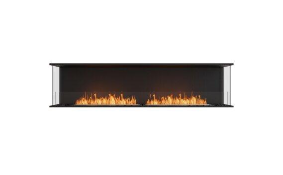 Flex 86 - Ethanol / Black / Installed View by EcoSmart Fire