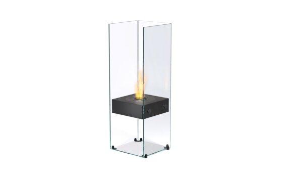 Ghost Designer Fireplace - Ethanol / Black by EcoSmart Fire