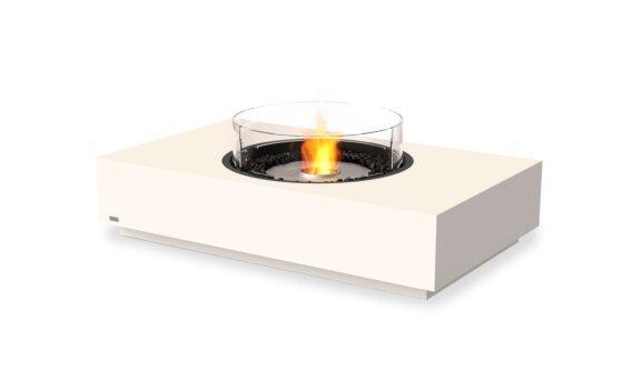 Martini 50 Fire Table - Ethanol / Bone / Optional Fire Screen by EcoSmart Fire