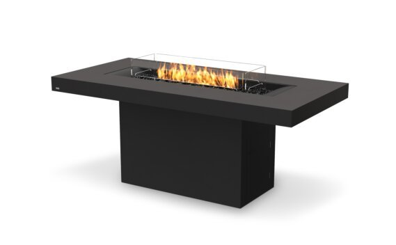 Gin 90 (Bar) Fire Table - Gas LP/NG / Graphite by EcoSmart Fire