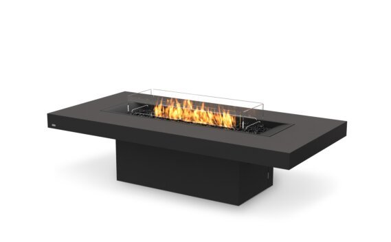 Gin 90 (Chat) Fire Table - Gas LP/NG / Graphite by EcoSmart Fire