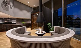 Hamton's Haven Development Indoor Fireplaces Ethanol Burner Idea