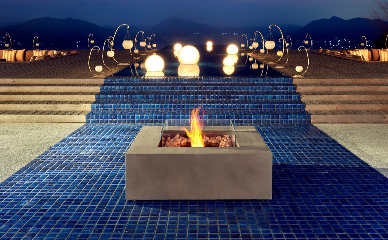 Base 40 Fire Table - Studio Image by EcoSmart Fire