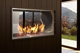 Firebox 1000DB Double Sided Fireplace - In-Situ Image by EcoSmart Fire