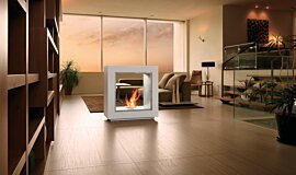 Merkmal Japan See-Through Fireplaces Designer Fireplace Idea