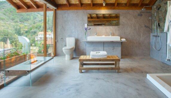Lyhnos Hotel Cyprus - Igloo Designer Fireplace by EcoSmart Fire
