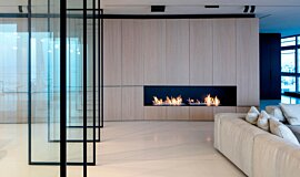 N Apartment Tel Aviv Indoor Fireplaces Ethanol Burner Idea