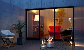 Private Residence Indoor Fireplaces Fire Pit Idea