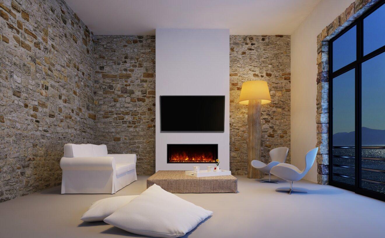 EL40 Fireplace Insert - Studio Image by EcoSmart Fire