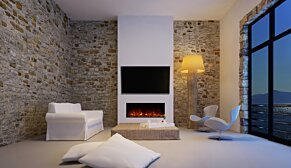 EL40 Fireplace Insert - In-Situ Image by EcoSmart Fire