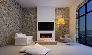 EL40 Electric Fireplace - In-Situ Image by EcoSmart Fire