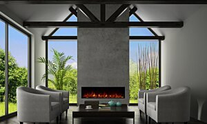 EL60 Electric Fireplace - In-Situ Image by EcoSmart Fire