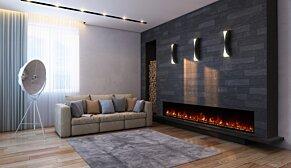 EL100 Fireplace Insert - In-Situ Image by EcoSmart Fire