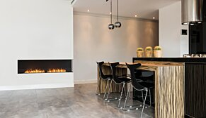 Flex 86RC.BXR Flex Fireplace - In-Situ Image by EcoSmart Fire