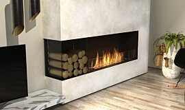 Living Room Indoor Fireplaces Flex Fireplace Idea