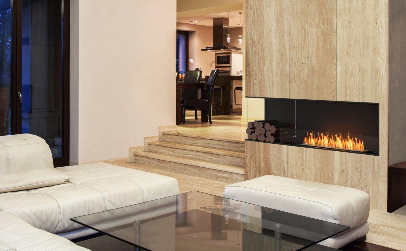 Flex 68LC.BXL Flex Fireplace - Studio Image by EcoSmart Fire