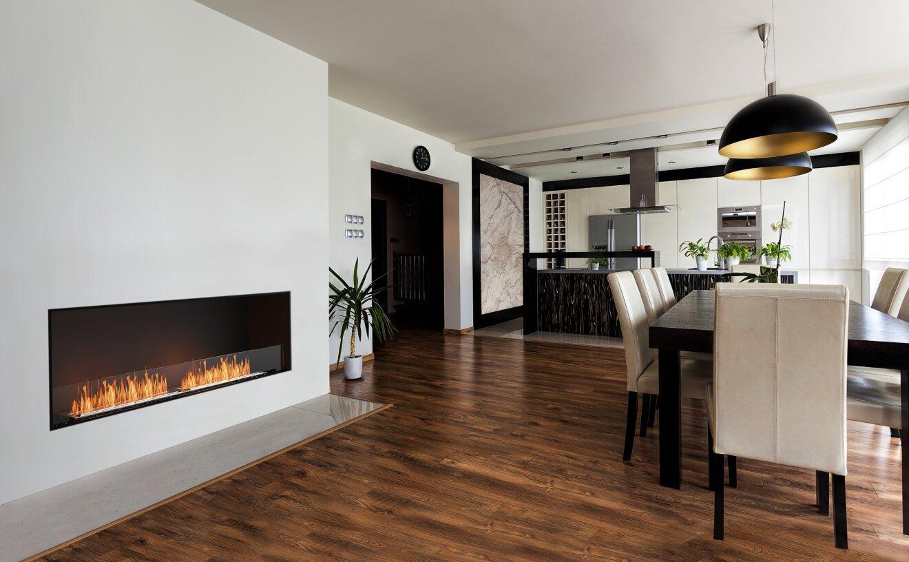 Flex 86SS Flex Fireplace - Studio Image by EcoSmart Fire
