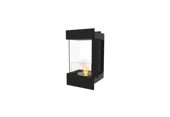 Flex 18PN Flex Fireplace - Ethanol / Black / Uninstalled View by EcoSmart Fire