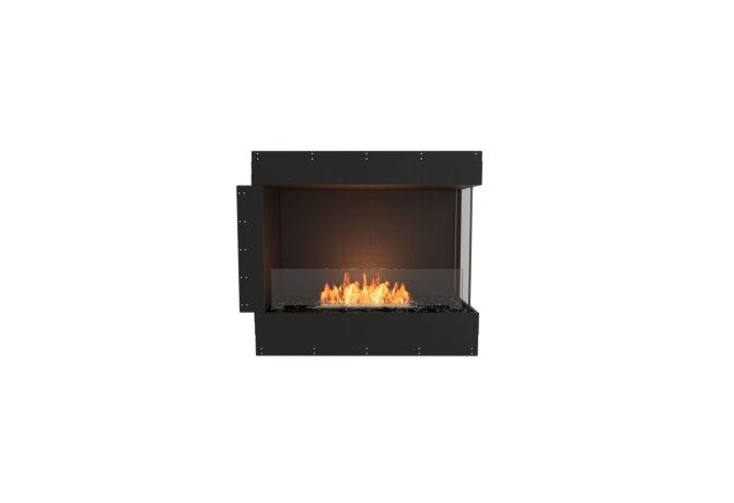 Flex 32RC Right Corner - Ethanol / Black / Uninstalled View by EcoSmart Fire