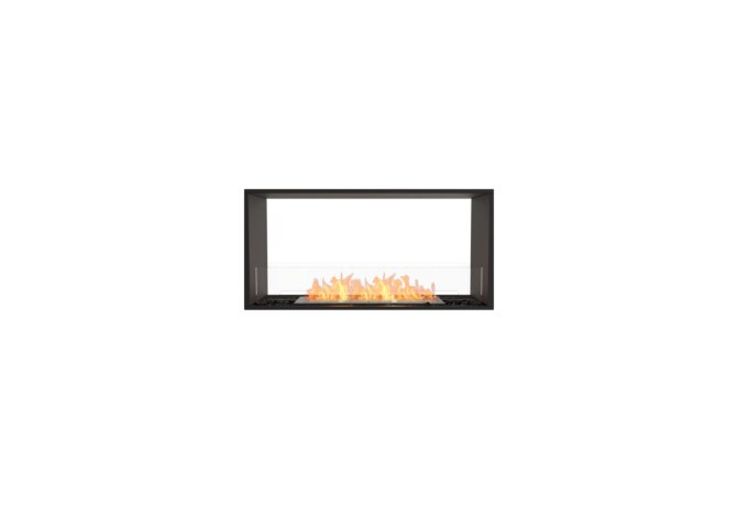 Flex 42DB Flex Fireplace - Ethanol / Black / Installed View by EcoSmart Fire