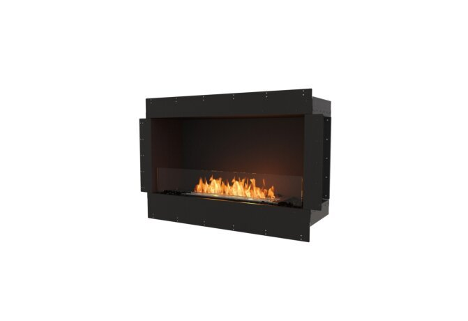 Flex 42SS Flex Fireplace - Ethanol / Black / Uninstalled View by EcoSmart Fire