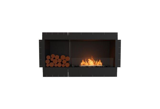 Flex 50SS.BXL Flex Fireplace - Ethanol / Black / Uninstalled View by EcoSmart Fire