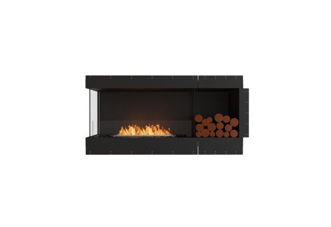 Flex 60LC.BXR Flex Fireplace - Ethanol / Black / Uninstalled View by EcoSmart Fire