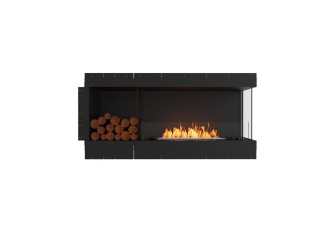 Flex 60RC.BXL Flex Fireplace - Ethanol / Black / Uninstalled View by EcoSmart Fire