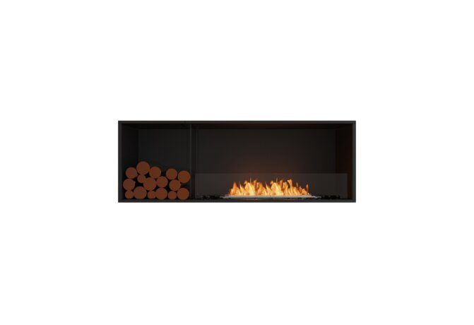 Flex 60SS.BXL Single Sided - Ethanol / Black / Installed View by EcoSmart Fire