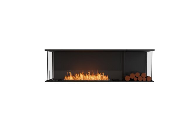 Flex 68 - Ethanol / Black / Installed View by EcoSmart Fire